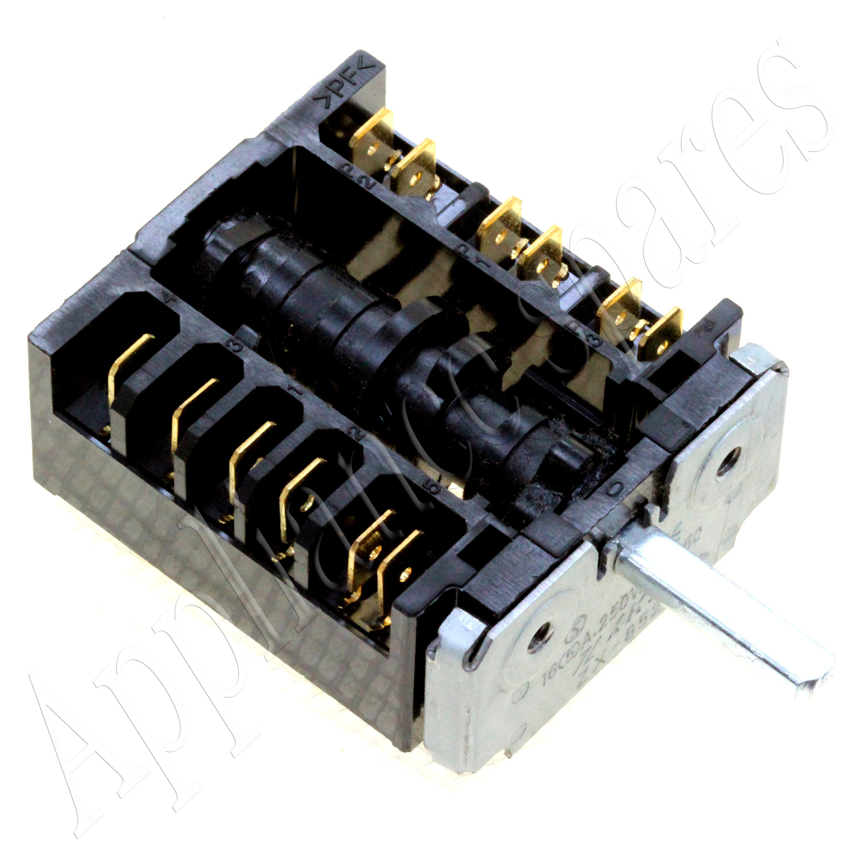 12215 switches selector switches stoves, ovens, hobs and catering 6 heat stove switch wiring diagram at gsmx.co
