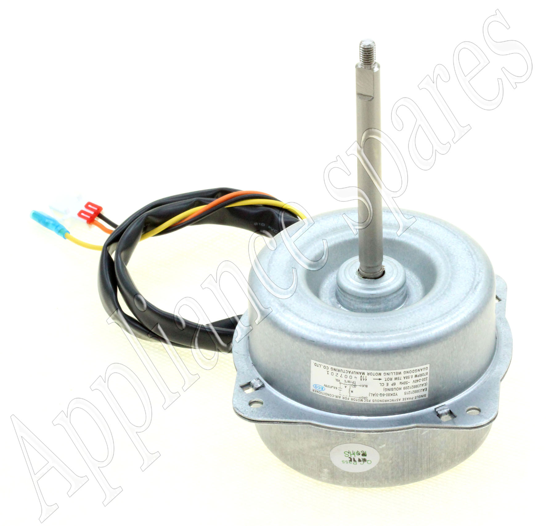 Air conditioner condenser fan motor air conditioner guided for Air conditioner compressor motor