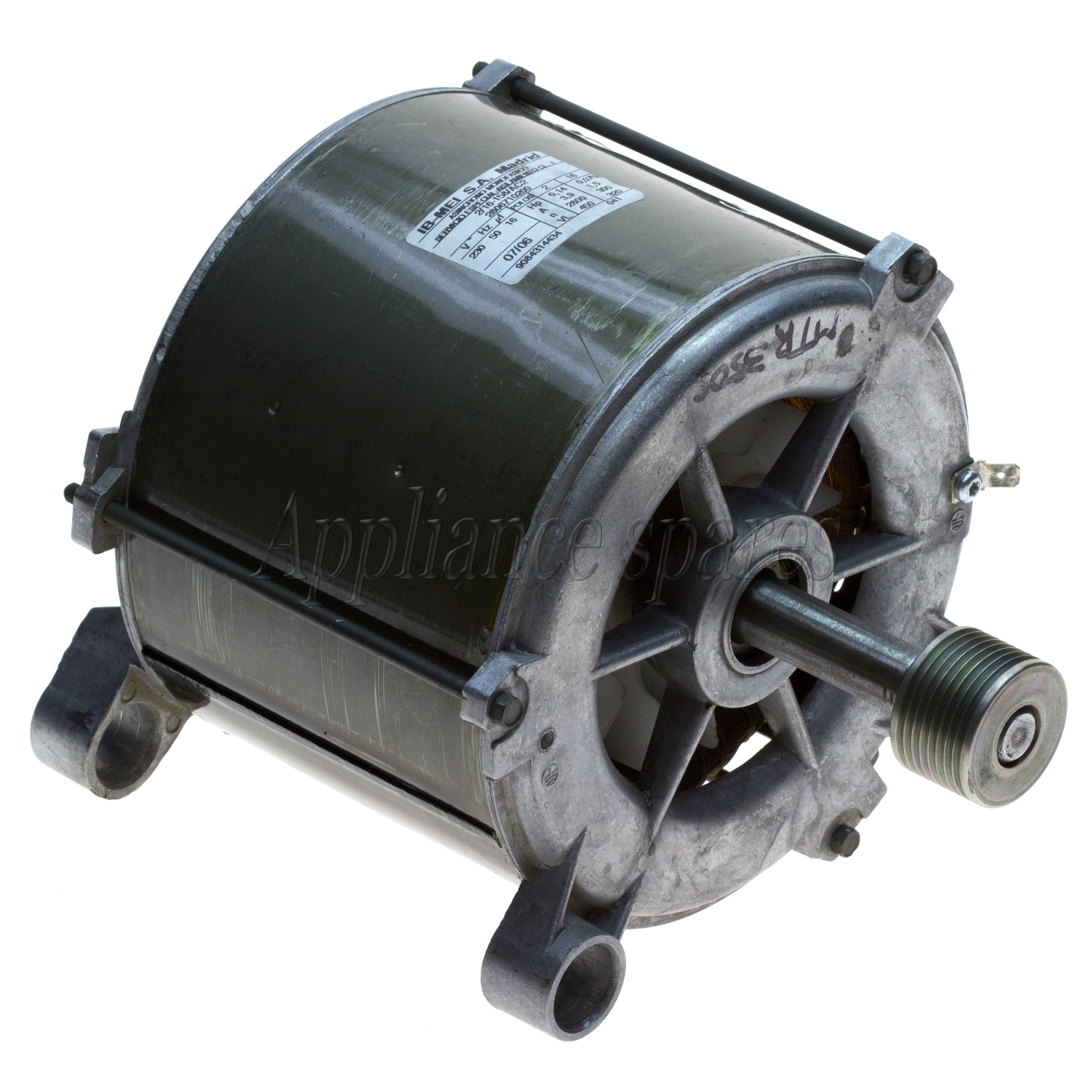 Defy Front Loader Washing Machine Main Motor With 35mm