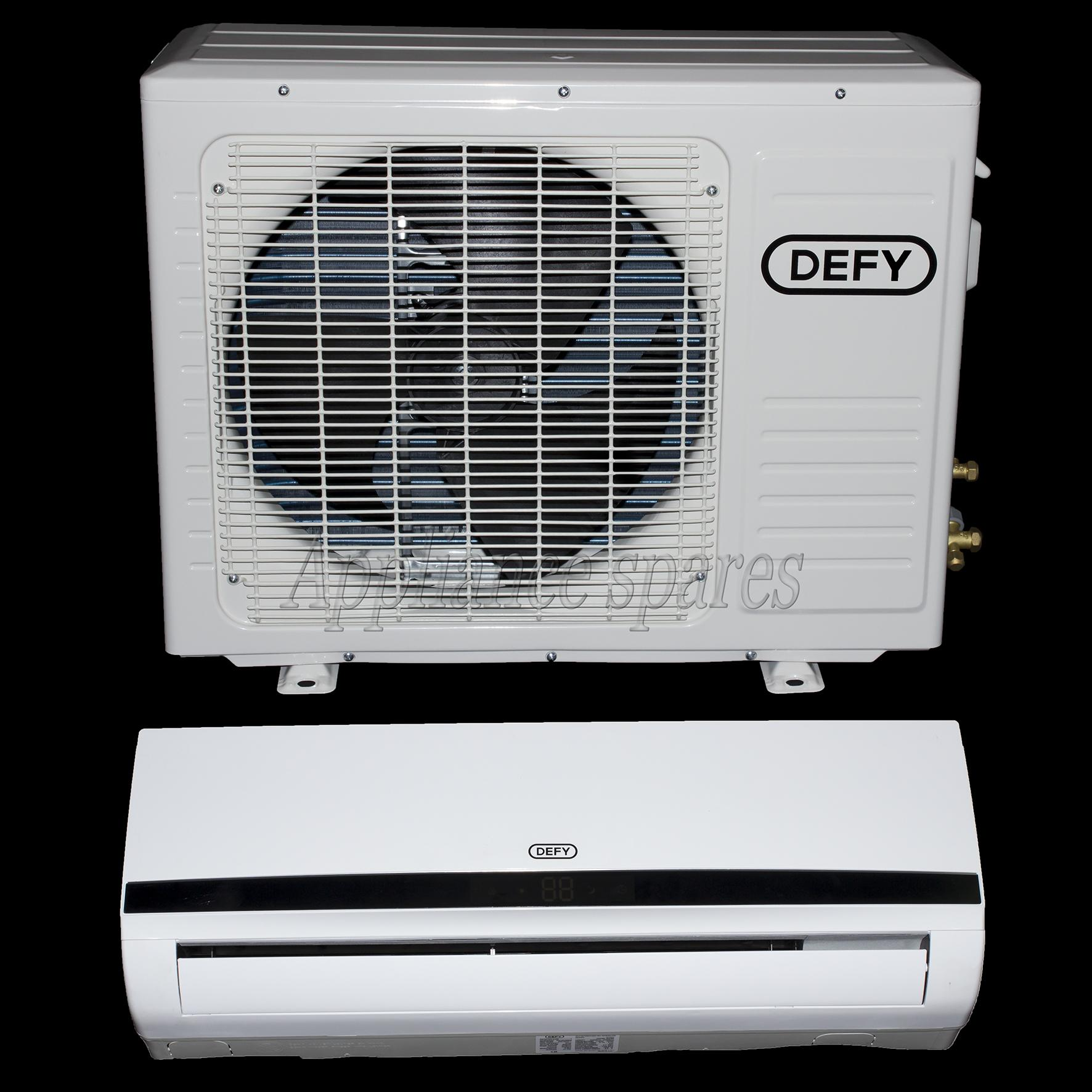 DEFY AIR CONDITIONER 9000 BTU MIDWALL SPLIT INCLUDING 3m PIPE KIT  #4C5965