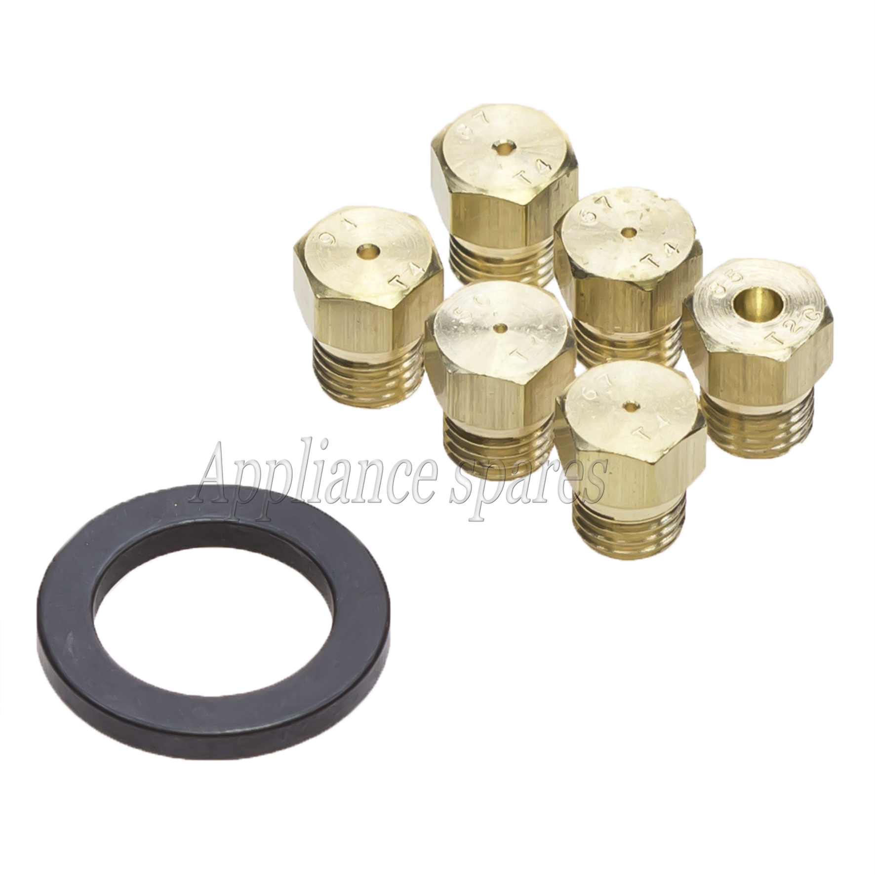Whirlpool Gas Stove Nozzle Set Whirlpool Gas Stove Parts