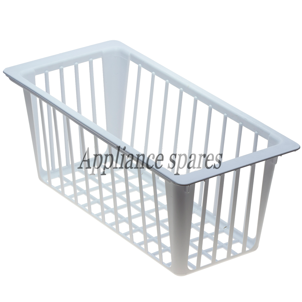 Drawers rails and parts defy white plastic chest freezer basket