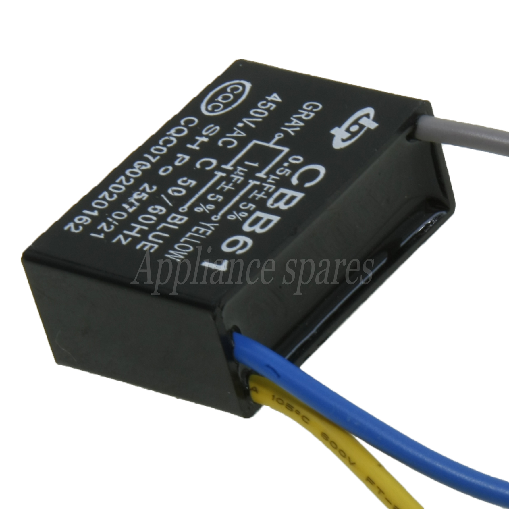 Ceiling Fan Capacitor 0 5uf 1 Uf 450v 3 Wires