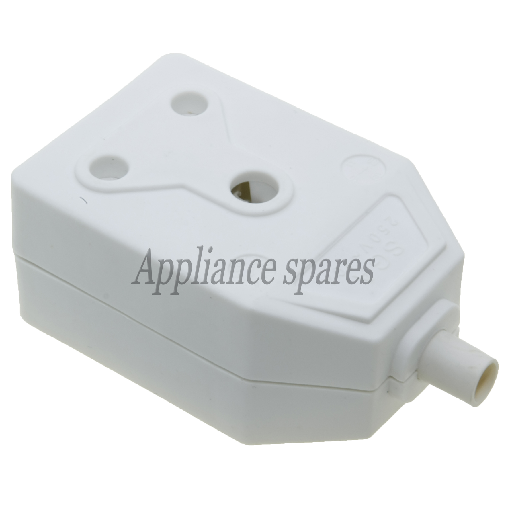 janus plastic plug coupler lategan and van biljoens appliance rh appliancespares co za 120 Volt Plug Wiring 3 Prong Plug Wiring Diagram
