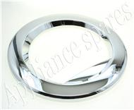 LG FRONT LOADER WASHING MACHINE OUTER DOOR FRAME (CHROME)
