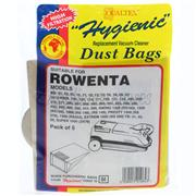 ROWENTA VACUUM CLEANER PAPER BAG (PACK OF 5)