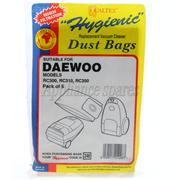 DAEWOO VACUUM CLEANER PAPER BAG (PACK OF 5)