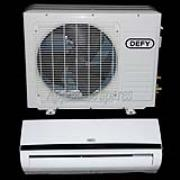 DEFY AIR CONDITIONER 9000 BTU MIDWALL SPLIT INCLUDING 3m PIPE KIT