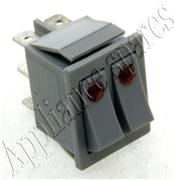 WESTPOINT BAKE/GRILL ILUMINATED SELECTOR SWITCH (SILVER) 3 + 3 CONNECTIONS
