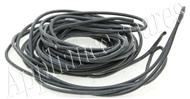 2.5mm BLACK SILICON WIRE (PER METRE)
