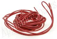 2.5mm RED SILICON WIRE (PER METRE)