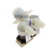 WHIRLPOOL FRONT LOADER WASHING MACHINE SOLENOID INLET VALVE (DOUBLE, STRAIGHT)