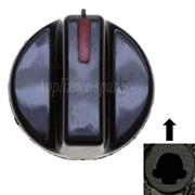 DEFY CONTROL KNOB FOR 5mm SHAFT (RED STRIPE)
