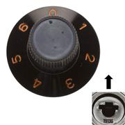 DEFY CONTROL KNOB FOR 6mm SHAFT 1 - 6