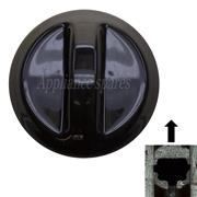 DEFY CONTROL KNOB FOR 6mm SHAFT (BLACK)