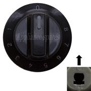 DEFY CONTROL KNOB FOR 5mm SHAFT (BLACK) 1 - 8