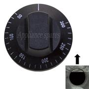 UNIVERSAL CONTROL KNOB FOR 5mm SHAFT (BLACK) 0°C - 300°