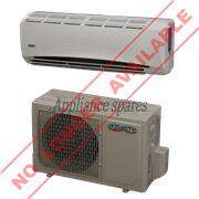 INFINITY AIR CONDITIONER 9000 BTU MIDWALL SPLIT INCLUDING 3m PIPE KIT**DISCONTINUED