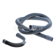 1.5 METER DRAIN HOSE, 22MM STRAIGHT X 18MM STRAIGHT ENDS WITH HOOK