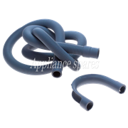 2 METER DRAIN HOSE, 22MM STRAIGHT X 18MM STRAIGHT ENDS WITH HOOK