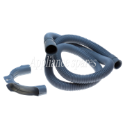 2 METER DRAIN HOSE, 28MM STRAIGHT X 18MM STRAIGHT ENDS WITH HOOK