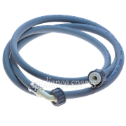 2 METER INLET HOSE, 1 X STRAIGHT FITTING and 1 X 90° FITTING