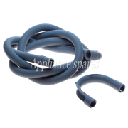 2. 5 METER DRAIN HOSE, 22MM 90° END X 22MM STRAIGHT END WITH HOOK