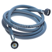 2.5 METER INLET HOSE, 1 X STRAIGHT FITTING and 1 X 90° FITTING