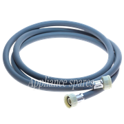 2.5 METER INLET HOSE, 2 X STRAIGHT FITTINGS