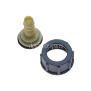 "STRAIGHT HOSE ADAPTOR, 3/4"" (19MM)"