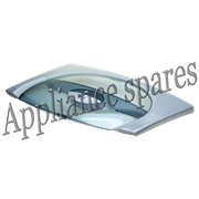 LG TOP LOADER WASHING MACHINE LID ASSEMBLY (SILVER)