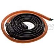 DRAIN HEATER TAPE 24FT SILICONE