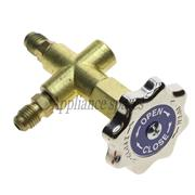 HIGH SIDE SINGLE MANIFOLD WITHOUT GAUGES FOR R12, R22, R502