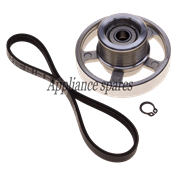 DEFY TUMBLE DRYER PULLEY AND SMALL BELT KIT
