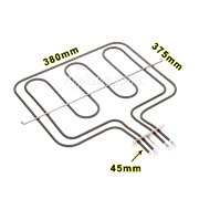 RUSSELL HOBBS OVEN GRILL ELEMENT<br/>INNER: 2000W , OUTER: 950W
