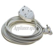 EXTENSION LEAD 10m WITH PLUG AND COUPLER