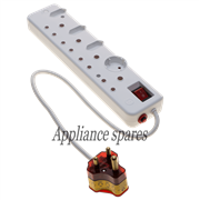 ELLIES 8 WAY MULTI PLUG WITH SURGE PROTECTION FBWP3
