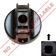 KELVINATOR CONTROL KNOB FOR 6mm SHAFT (BLACK)**DISCONTINUED