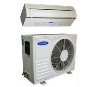 COOLWAVE AIR CONDITIONER 18000 BTU MID WALL SPLIT INCLUDING PIPE KIT