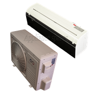 INFINITY AIR CONDITIONER 12000 BTU MIDWALL SPLIT INCLUDING 3m PIPE KIT (MIRROR FINISH)