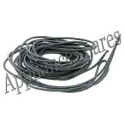 4mm BLACK SILICON WIRE (PER METRE)