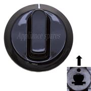 RUSSELL HOBBS HOB CONTROL KNOB FOR 6mm SHAFT (BLACK)