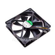 SQUARE FAN 120mm X 120mm X 25mm 12V/1.9W