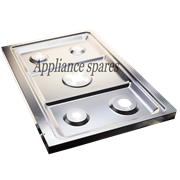 RUSSELL HOBBS GAS ELECTRIC COOKER TOP PANEL