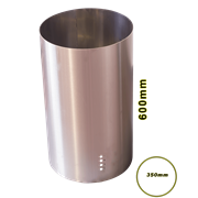 ATLAN EXTRACTOR BOTTOM FLUTE (H:600 x DIAMETER:350)