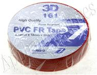 RED INSULATION TAPE 0,2mm X 18mm X 20m