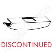 KELVINATOR TUMBLE DRYER HINGE COVER**DISCONTINUED