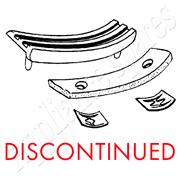 HOOVER TUMBLE DRYER PLASTIC SLIDE BEARING AND FELT**DISCONTINUED