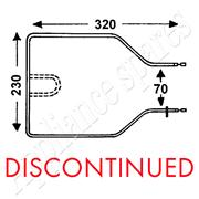 DEFY OVEN WARMER DRAWER ELEMENT**DISCONTINUED