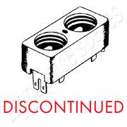 DEFY DOUBLE FUSE HOLDER**DISCONTINUED